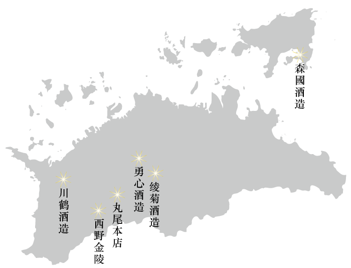 酒蔵マップ簡体
